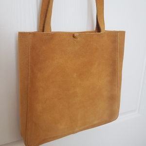 NWT MADEWELL The Elsewhere Tie Tote Bag
